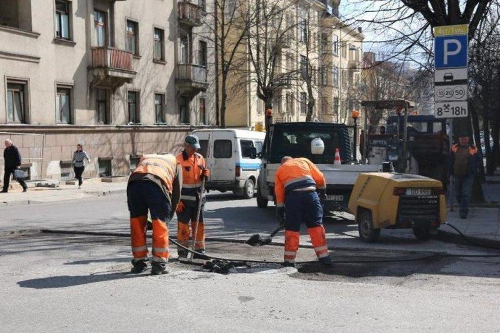 Tvarkomos Kauno gatvės (nuotr. Kauno miesto savivaldybės)