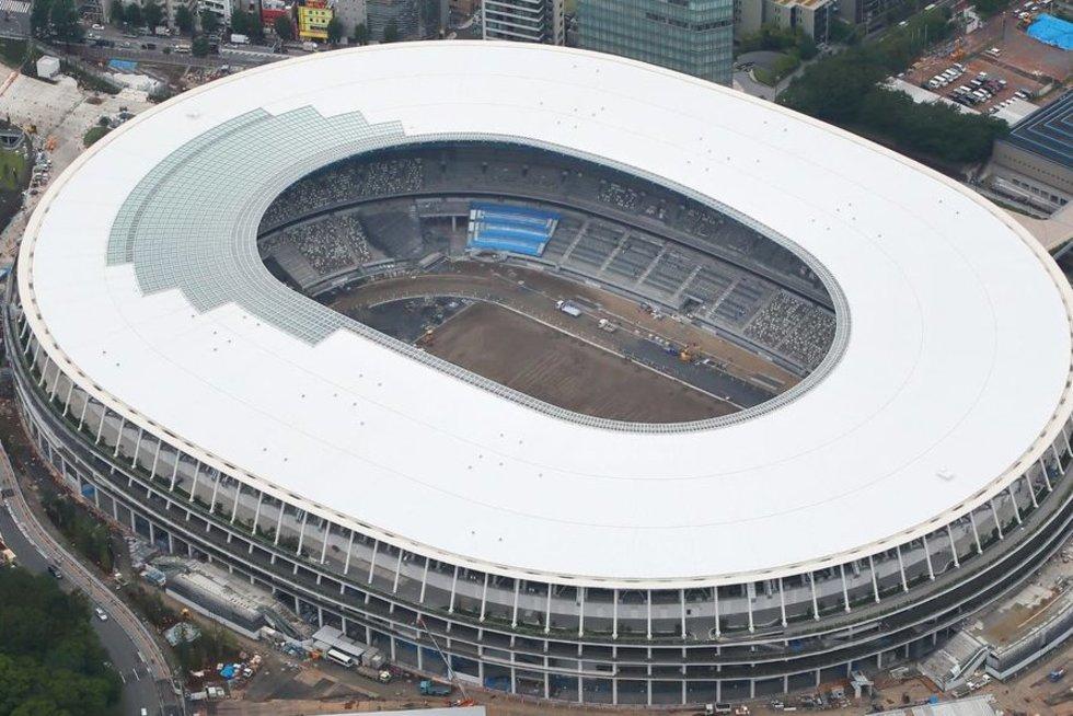 Tokijo olimpinis stadionas (nuotr. SCANPIX)