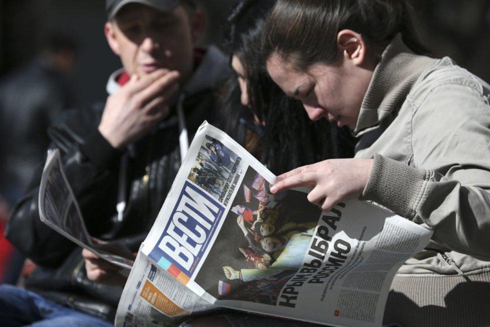 Rusija: informacinė visuomenė ir nauja geležinė uždanga (nuotr. SCANPIX)
