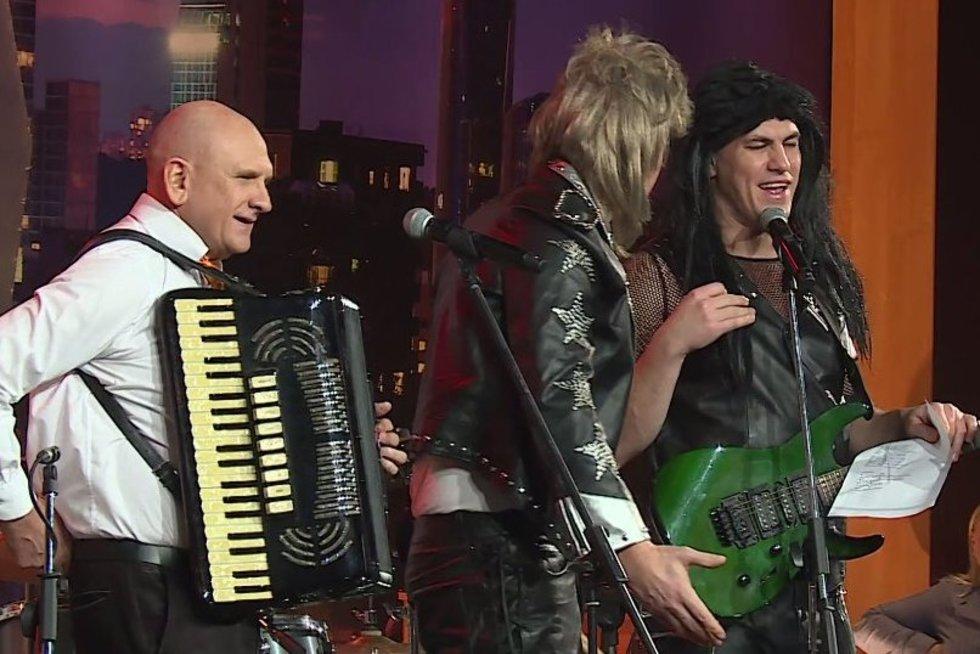 Pamatyk: legendinis dainininkas Kučinskas dalyvayvo roko grupės kastinge