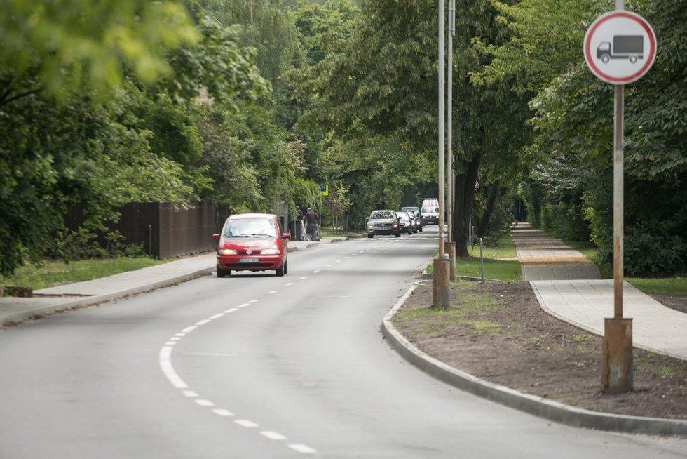 Sostinėje baigta Šilo gatvės rekonstrukcija (nuotr. Sauliaus Žiūros)