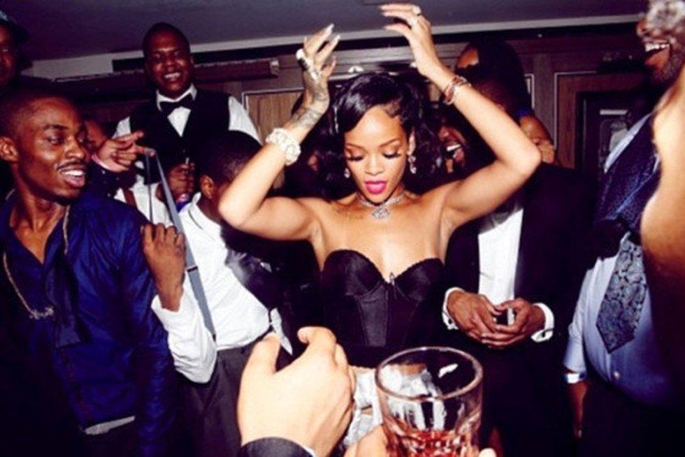 Rihanna (nuotr. Instagram)