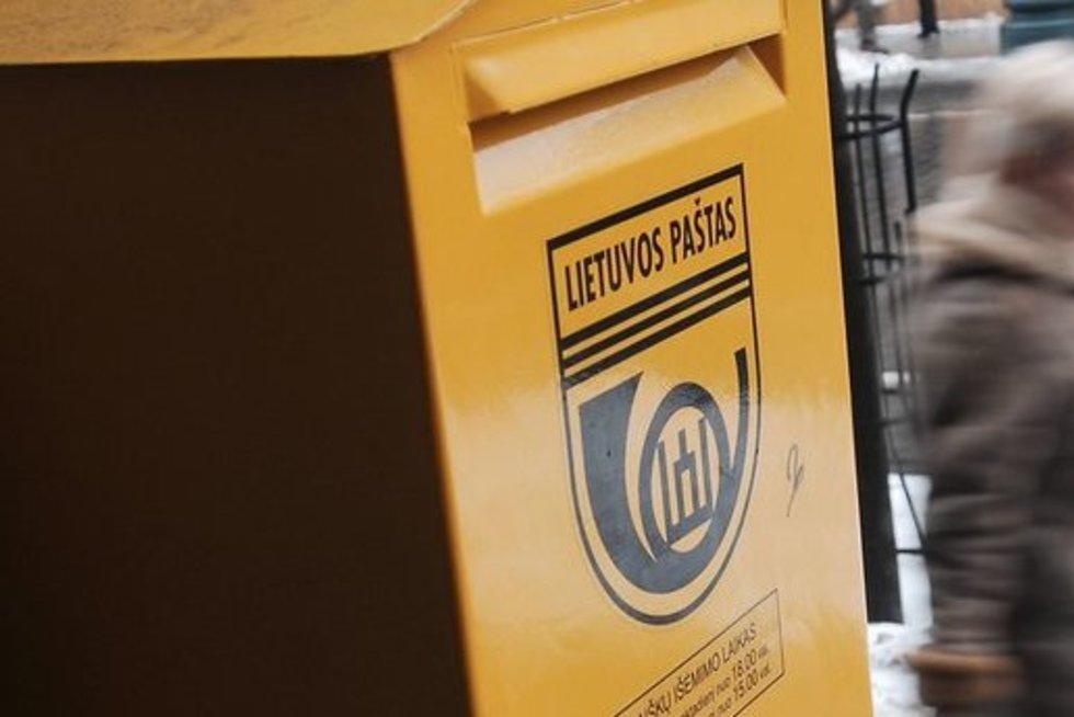 """""""Lietuvos paštas"""" (nuotr. Fotodiena.lt)"""