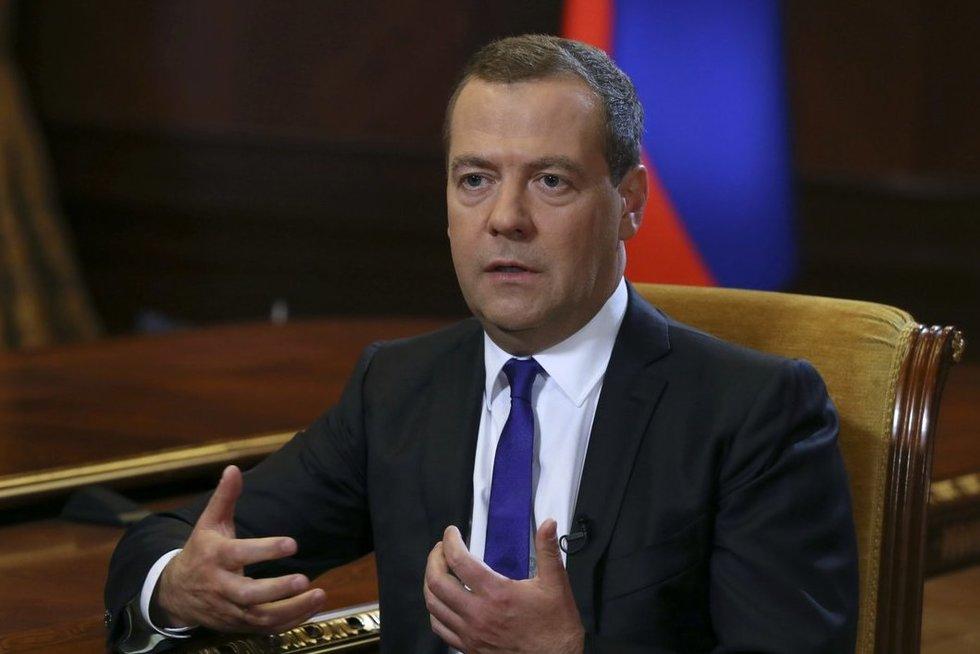 D. Medvedevas (nuotr. SCANPIX)