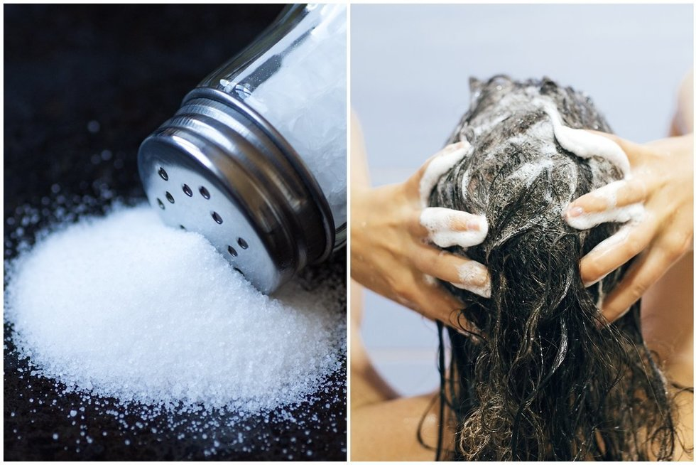 Į šampūną įberkite druskos: rezultatas nepaliks abejingų (nuotr. 123rf.com)