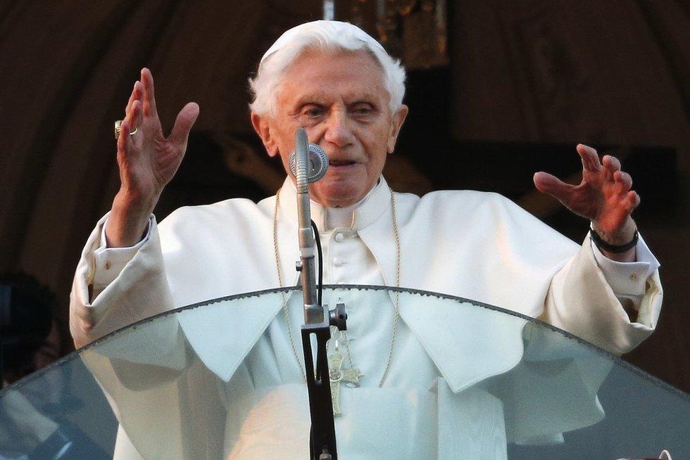 Benediktas XVI (nuotr. SCANPIX)