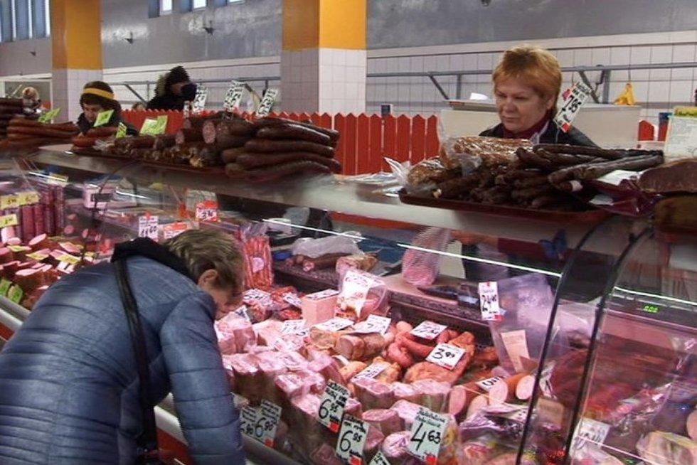 Parduotuvėje (nuotr. TV3)