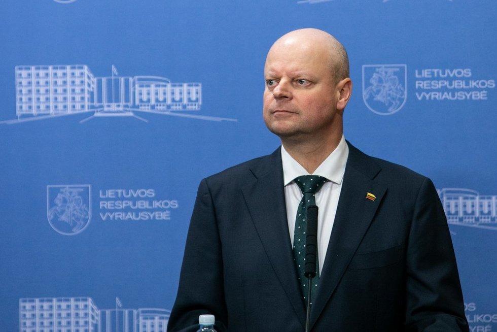 Saulius Skvernelis  (Paulius Peleckis/Fotobankas)