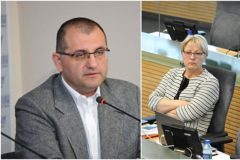 V. Kasiulevičius ir A. Kubilienė (tv3.lt fotomontažas)