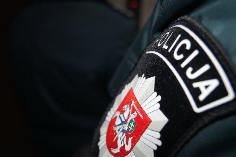 Policija (nuotr. Vilniaus apskrities vyriausiojo policijos komisariato) (nuotr. Balsas.lt)