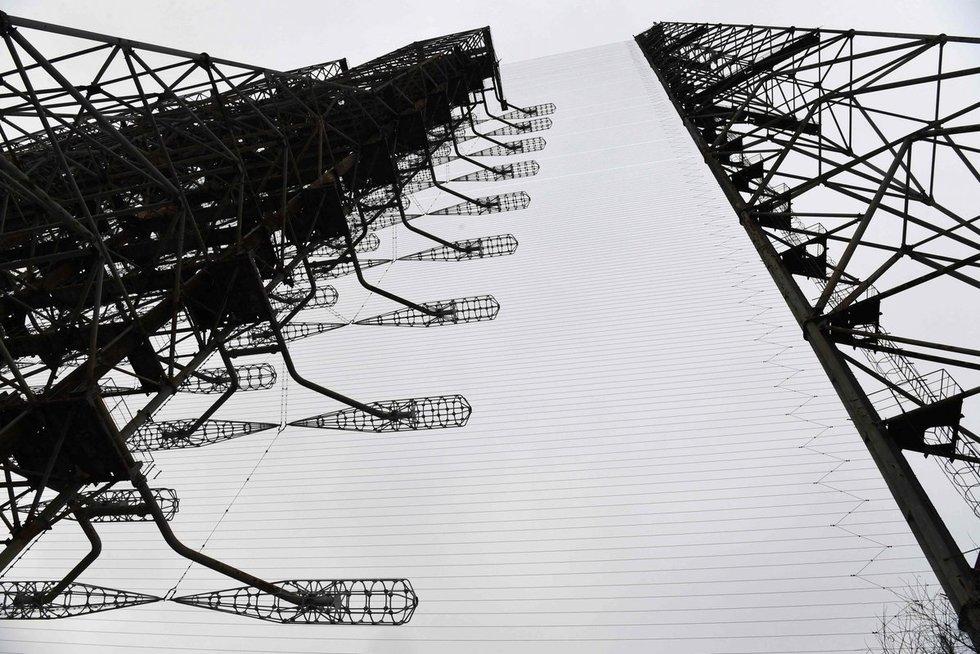 """Černobylyje įrengtas radaras """"Duga"""" (nuotr. SCANPIX)"""