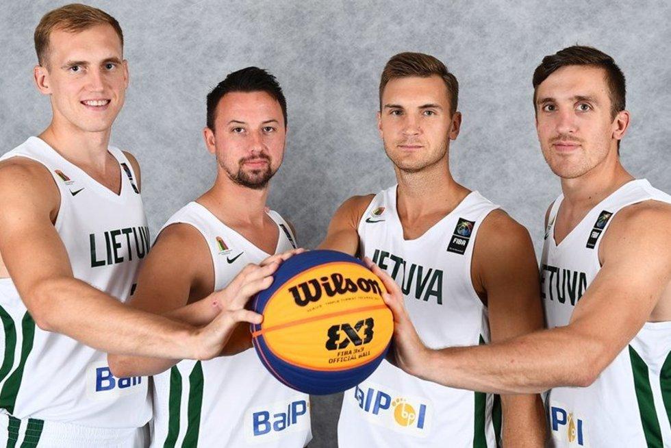 3x3 Lietuvos rinktinė (nuotr. Organizatorių)