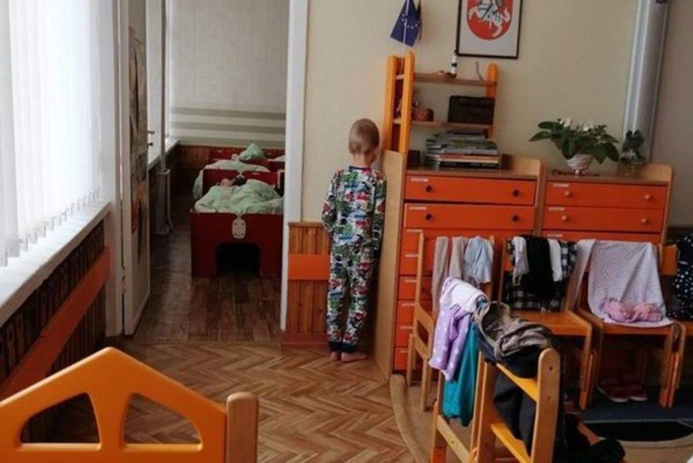 Pasipiktino nubaustu vaiku