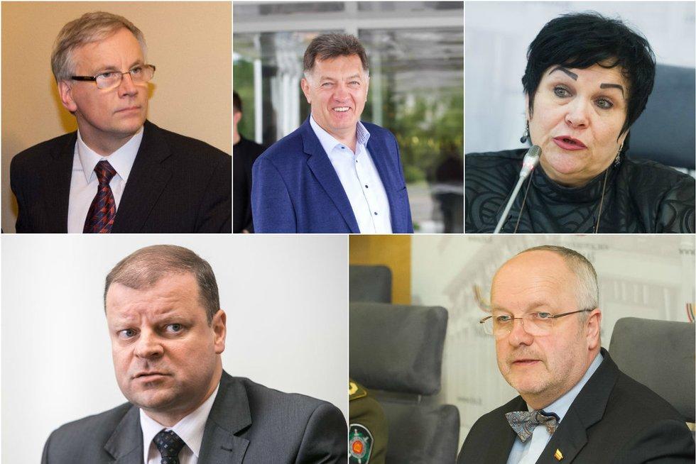 Ministrų kabinetas (nuotraukų koliažas) (nuotr. TV3)