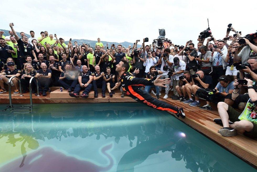 """""""Formulės-1"""" Monako etapas (nuotr. SCANPIX)"""