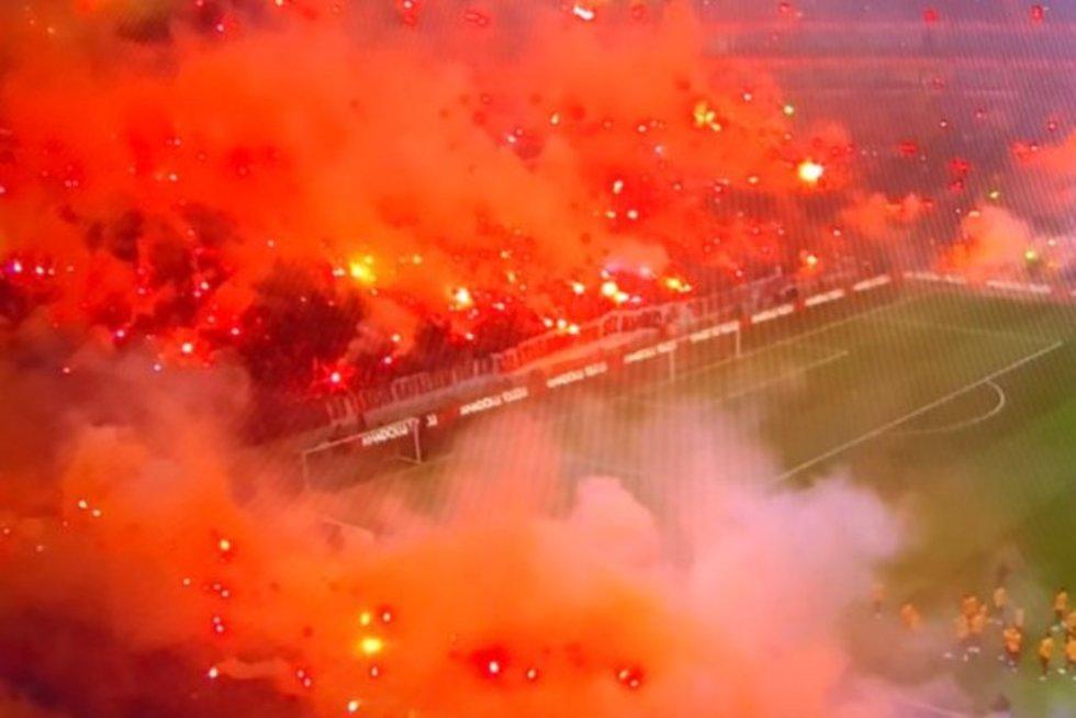 """""""Galatasaray"""" sirgaliai (nuotr. Organizatorių)"""
