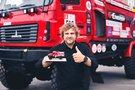 B.Vanagas išbandė Dakaro sunkvežimį, Vytauto Pilkausko nuotr.