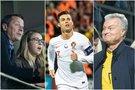 A. Zuokas su dukra, C. Ronaldo, G. Nausėda (tv3.lt fotomontažas)