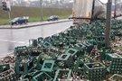 Kaune liejosi alaus upės (nuotr. TV3)