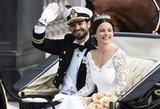 Švedijos princas vedė televizijos realybės šou žvaigždutę