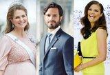 Švedijos karališkosios šeimos atžalos: šlovė, turtai ir skandalai