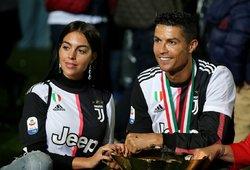 Atskleidė įspūdingą sumą, kurią Ronaldo kas mėnesį perveda draugei