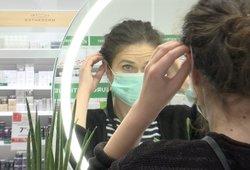 Koronaviruso pasekmės Lietuvoje: medicininių kaukių įsigyti tampa vis sunkiau
