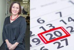 Šiandien stebuklinga data – 2020 02 20: Budraitytė pasakė, kaip pritraukti sėkmę