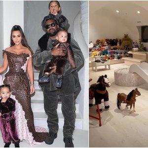 Įspūdingas Kardashian vaikų kambarys atima žadą: kiti apie tai galėtų tik pasvajoti