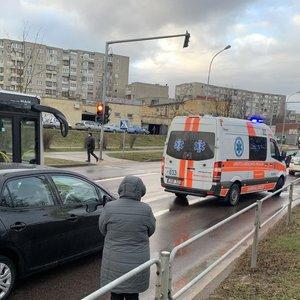 Tragiška avarija Vilniuje: avarijos kaltininkas mirė vairuotojos akivaizdoje