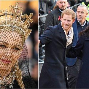 Harry ir Meghan sulaukė netikėto Madonnos pasiūlymo: pokštas ar rimtas kvietimas?