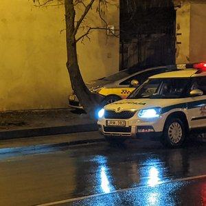 Avarija Maironio gatvėje Vilniuje