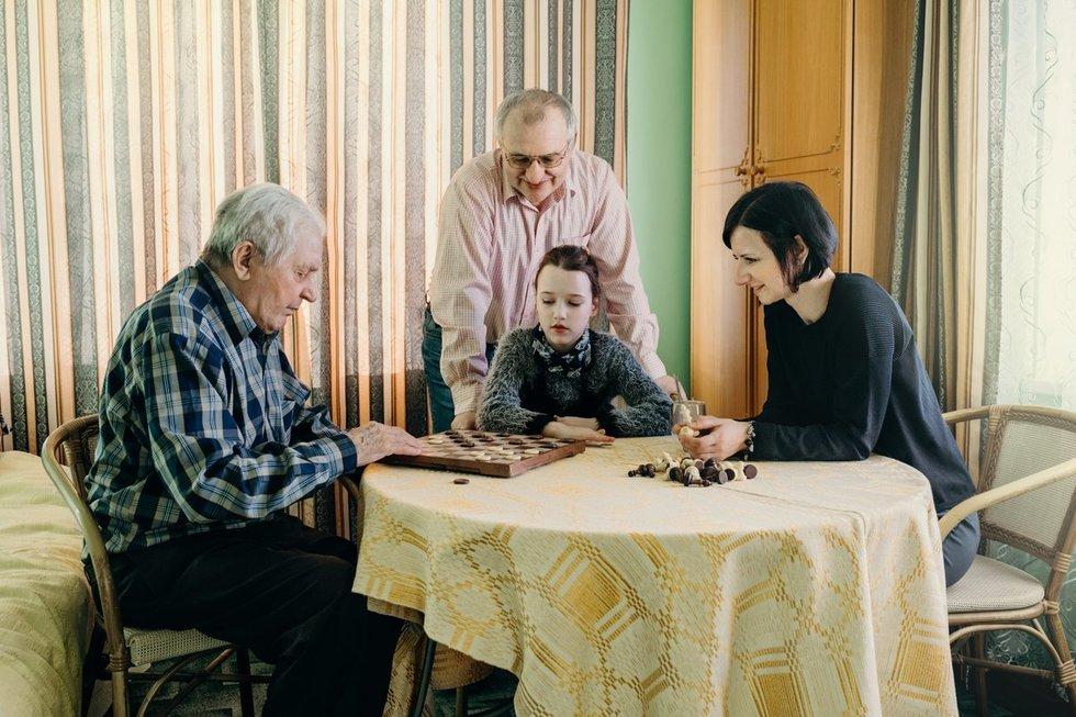 Šaltenių šeima (nuotr. Eglės Laurinavičės)