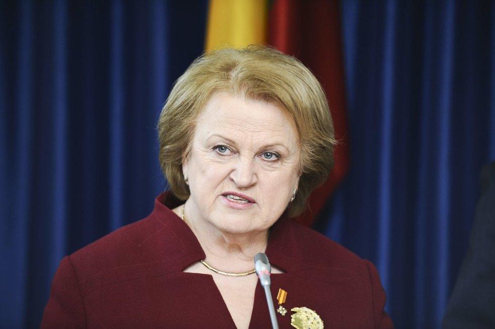 Politikė Kazimira Prunskienė prieš beveik aštuonerius metus patyrė insultą