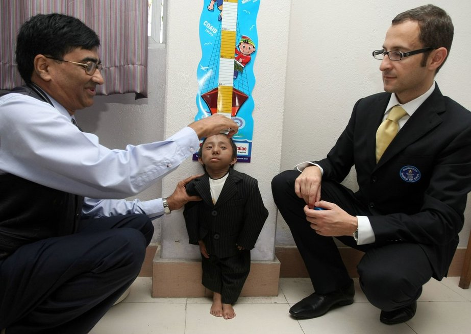 Mažiausias pasaulio žmogus Khagendra Thapa Magaras