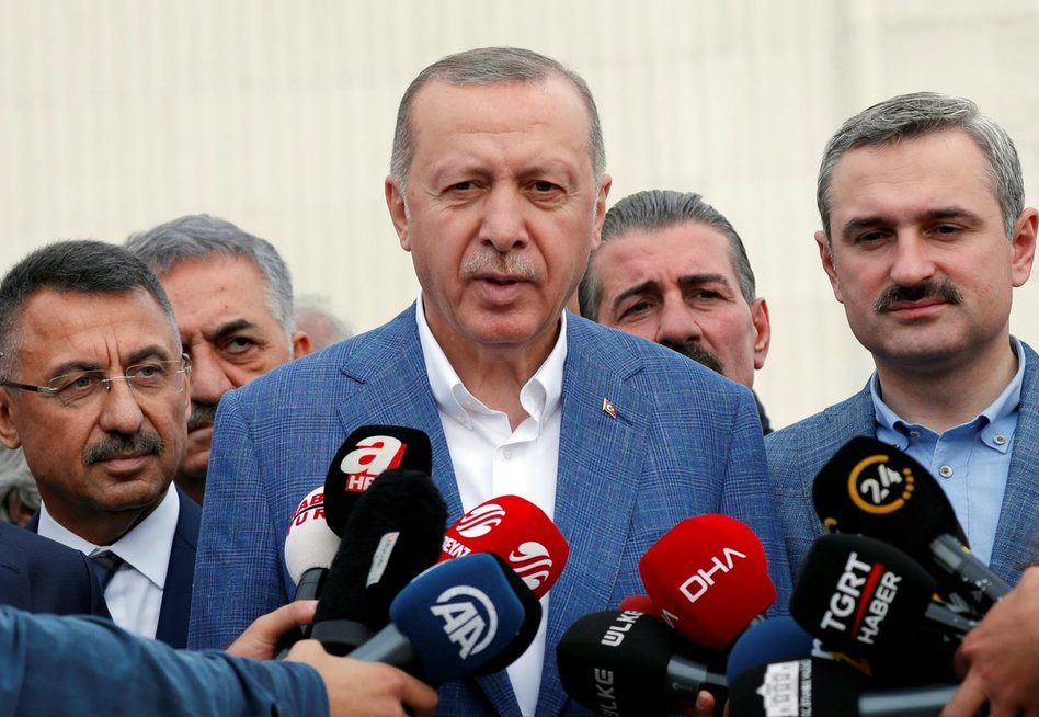 Turkijos prezidentas Recepas Tayyipas Erdoganas.