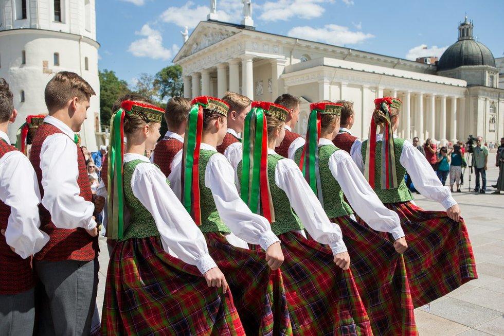 Dainų šventė (nuotr. Kęstutis Vanagas/Fotobankas)