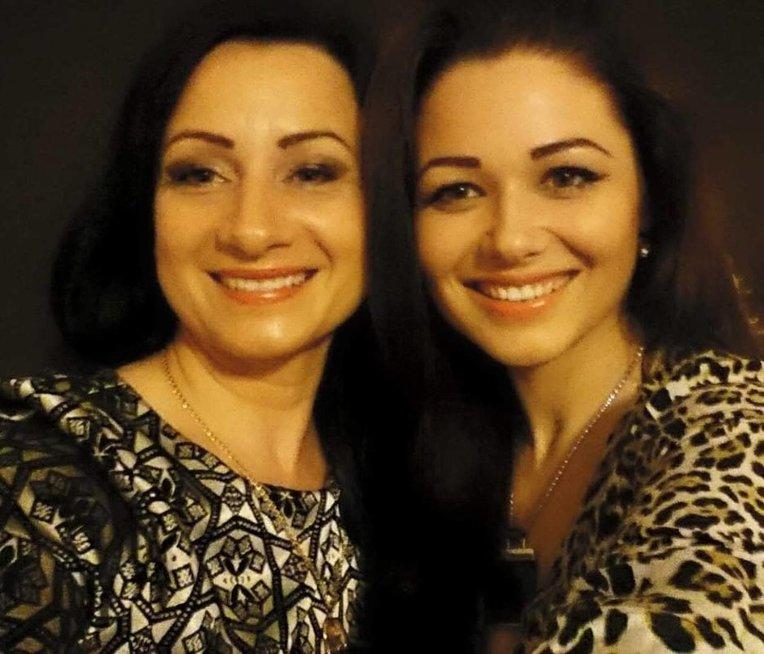 Simona ir jos mama Adelė