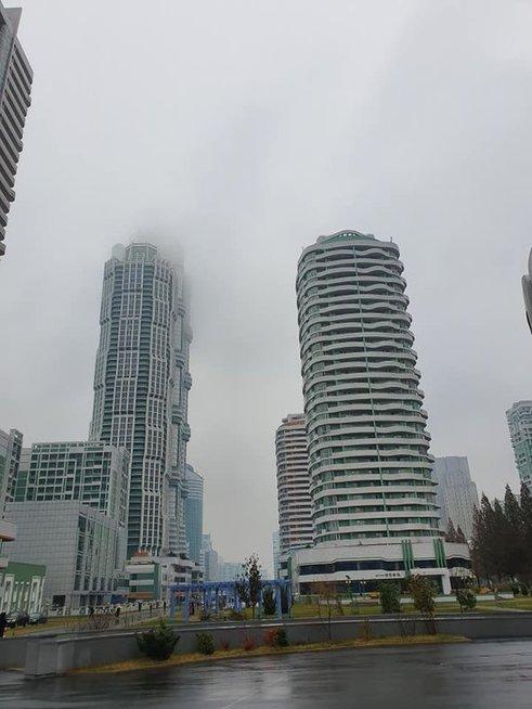 Mokslininkams skirtų dangoraižių kvartalas