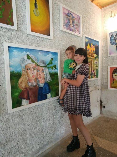 Dabar Vilija yra aktyvi meniškos sielos paauglė