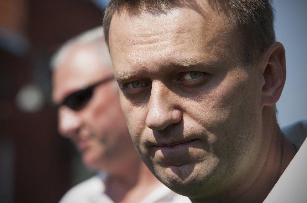 Opozicijos lyderis A. Navalnas