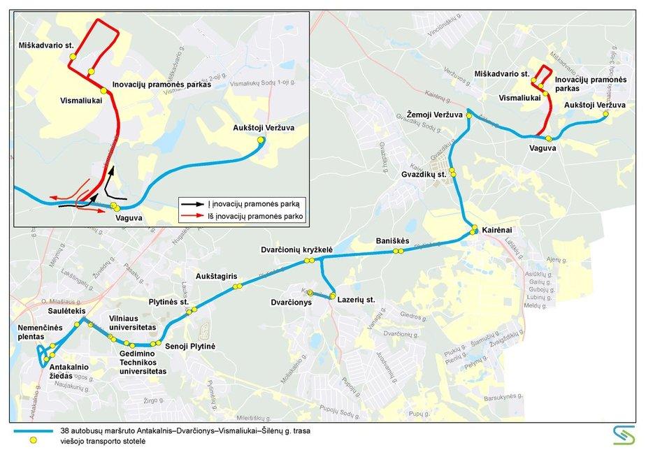 Vilniuje keisis maršrutinio transporto tvarkaraščiai (nuotr. Vilniaus miesto savivaldybės)