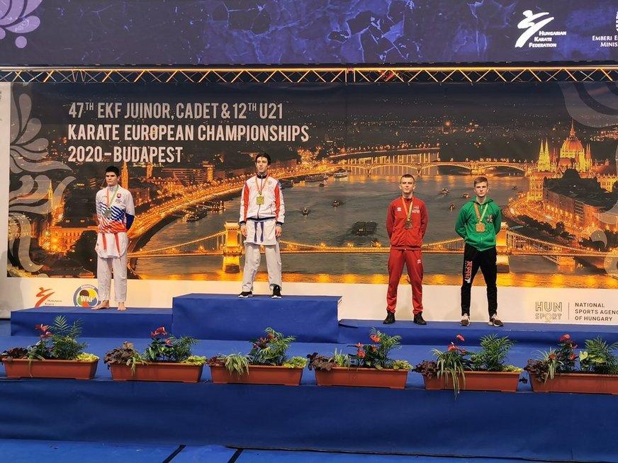 Lietuvis iškovojo bronzos medalį.
