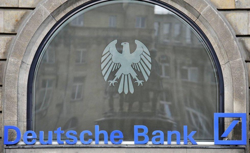 """JAV įtaria """"Deutsche Bank"""" pažeidžiant sankcijas Rusijai (nuotr. SCANPIX)"""