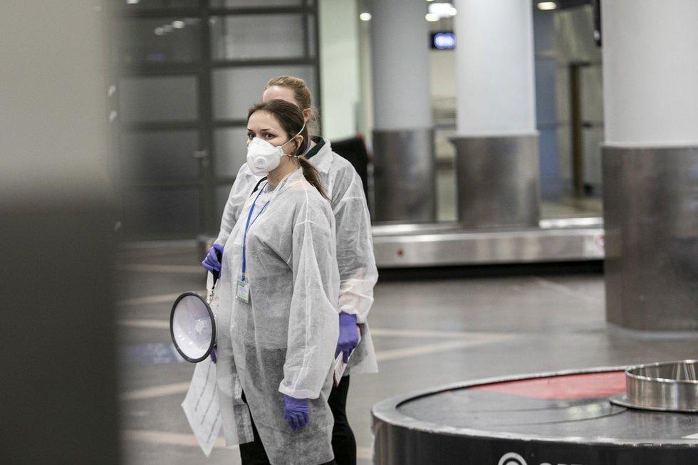 Vilniaus oro uoste – pasiruošimas koronavirusui