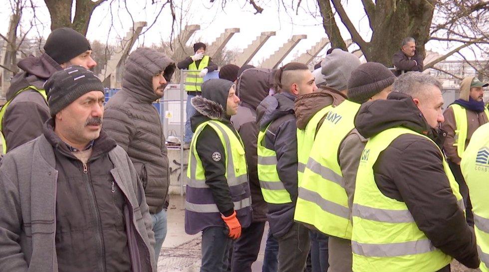Kaune protestuoja turkai