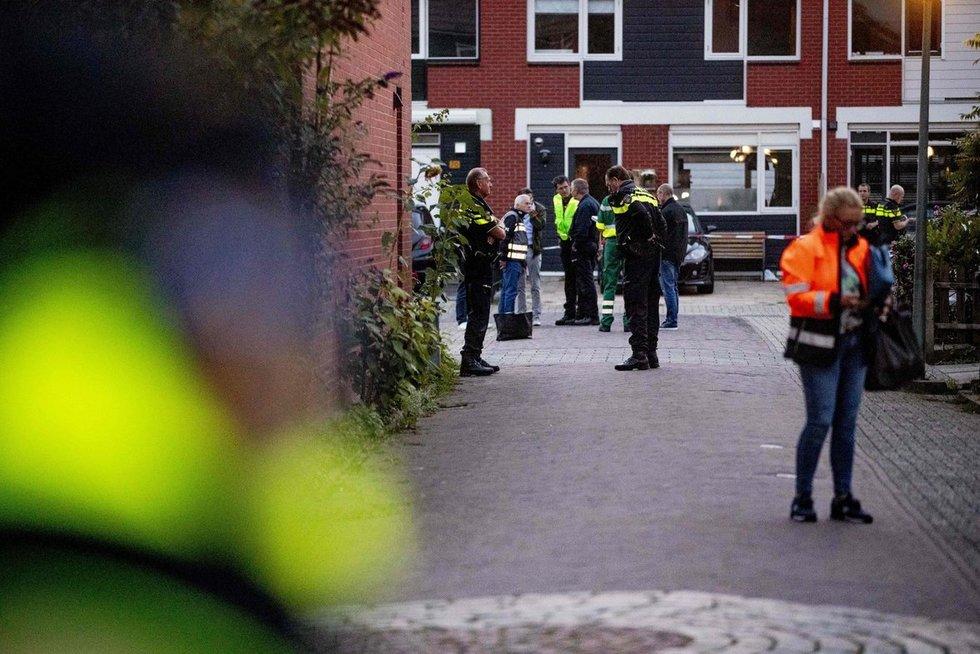 Nyderlandų policija (nuotr. SCANPIX)