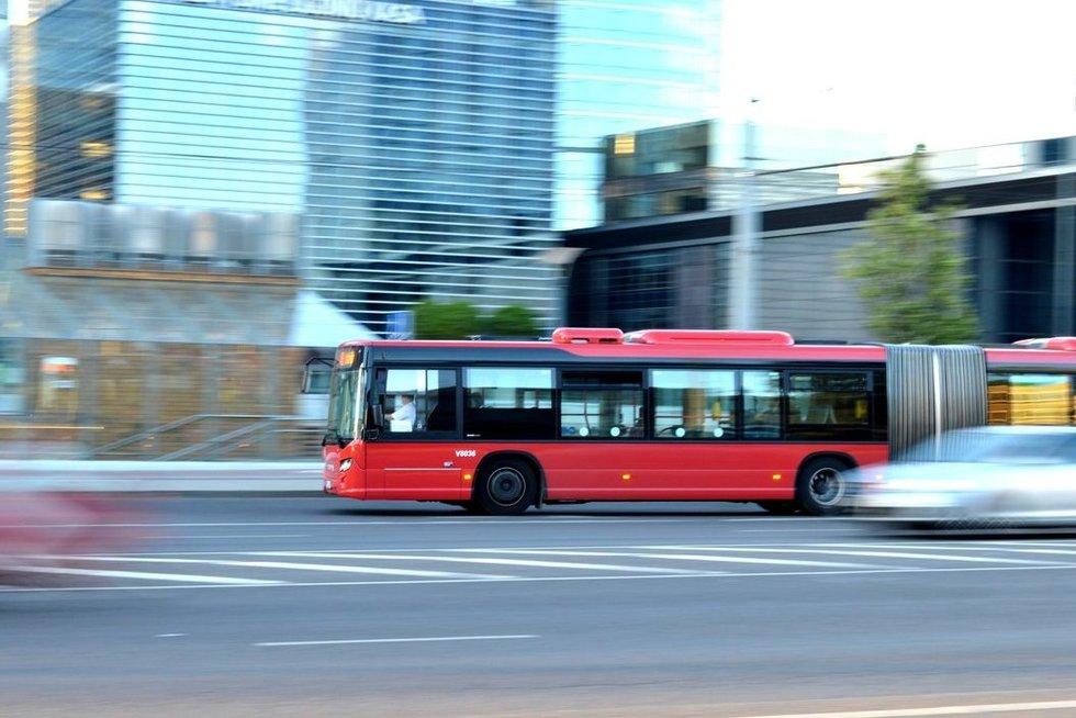 Viešasis transportas (nuotr. Organizatorių)