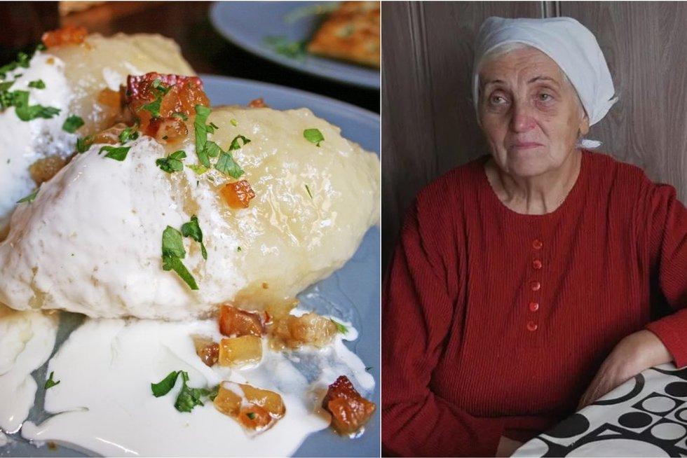 Močiutė pasidalijo tobulu cepelinų receptu (Nuotr. youtube.com)
