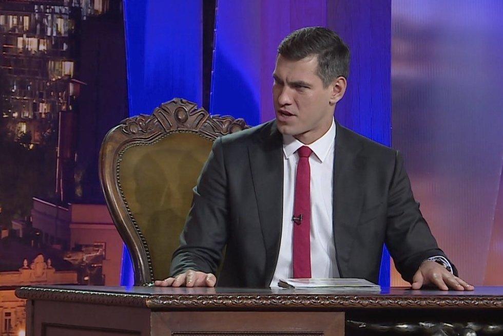 Justinas Jankevičius (nuotr. stop kadras)